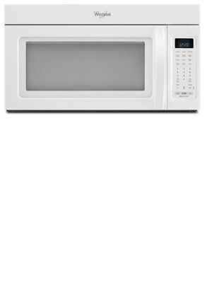 Microwave Ovens 150140 Whirlpool 1 9 Cu White Over The Range
