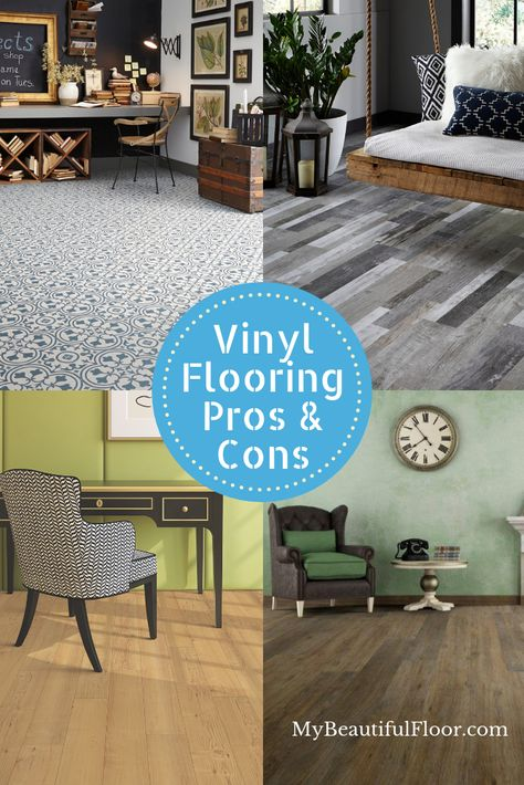 The Pros And Cons Of Vinyl Flooring Flooroftheday Ihavethisthingwithfloors Floorlove Homedecor Flooring Fl Vinyl Flooring Luxury Vinyl Flooring Flooring