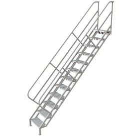 Ladders Stairways Stairs 12 Step Industrial Access Stairway Ladder Perforated Wiss112246 B593638 Globalindustrial Com Steel Stairs Stairs Ladder