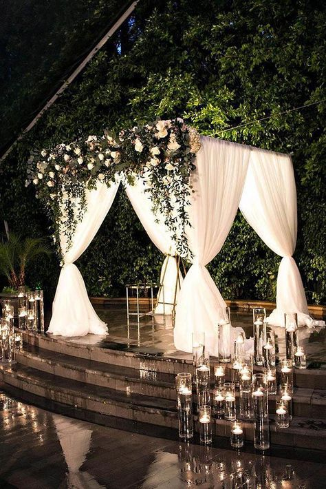 39 Beautiful Ways To Use Candles At Your Wedding   Wedding Forward
