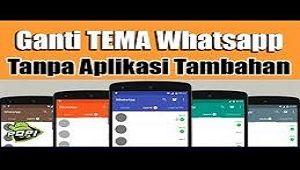 3 Cara Mengganti Tema Whatsapp Tanpa Aplikasi Tambahan Aplikasi Iphone Pengeditan Foto