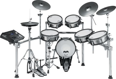 Roland Drum set, would love to have this.  Add the headphones and just play without bugging anyone.