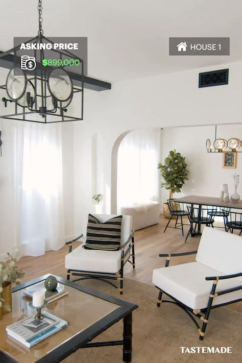 Dreaming of buying a home? Practice weighing your options with a game of Would You Rather! Between a 1930s Spanish-style space and a contemporary townhouse, see how these Los Angeles homes compare thanks to realtor.com. #ad