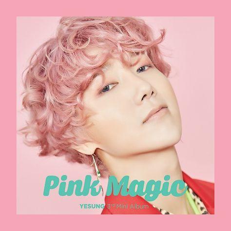 Yesung – PINK MAGIC – The 3rd Mini Album