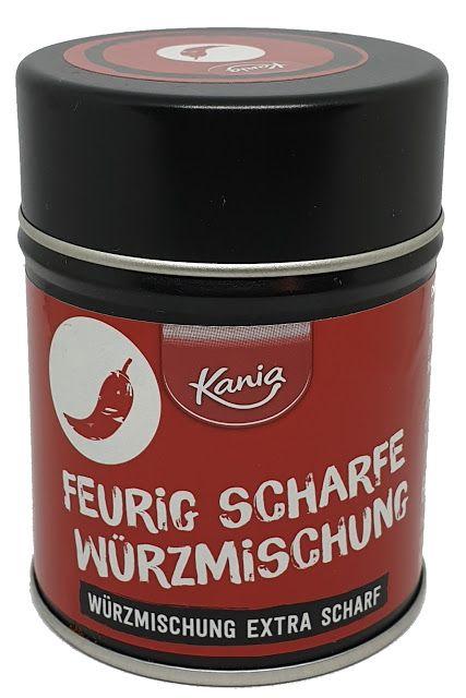 Lidl Kania Feurig Scharfe Wurzmischung Wurzmischungen Chilipulver Rauchsalz