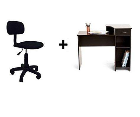 Mainstays Student Desk Bundle Black And Task Chair Armless Review Task Chair Student Desks Home Office Desks