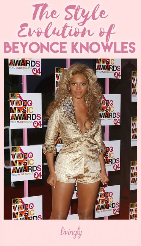 Beyoncé is a diva idolized not only for her music, but overall style. She has a confidence and glow about her that people want to emulate, and it's only helped by her fierce fashion sense. A fashion risk-taker even in her early years, Beyoncé loves to takes chances and go bold on the red carpet. See how her look has changed through the years!