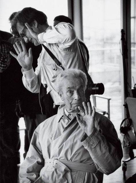 Wim Wenders and Michelangelo Antonioni.