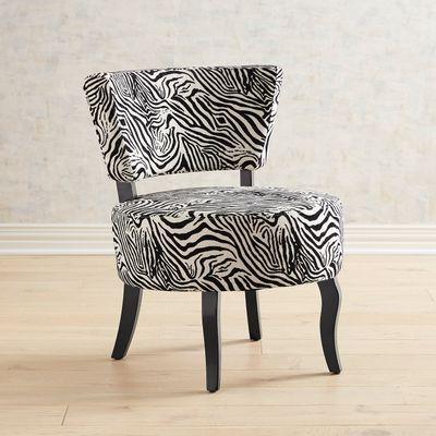Sabine Zebra Chair Zebra Chair Teal Chair Comfy Chairs