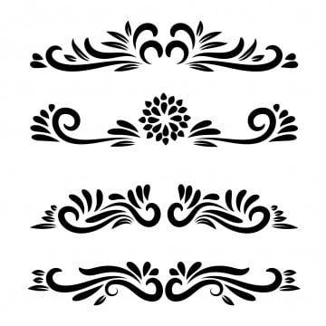 Vector Element Floral Motifs Floral Ornamental Vector Line Art Flower Ornamental Vector Clipart Icons Converter Icons Fitness Png And Vector With Transpare Seni Bunga Karya Seni Garis Ilustrasi Bunga