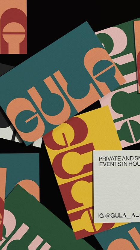 Gula catering and event brand by Sofia Noceti