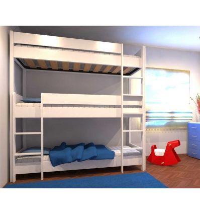 Letto A Castello A 3 Posti.Letto A Castello 3 Posti In 2020 Triple Bunk Beds Bunk Beds Bed