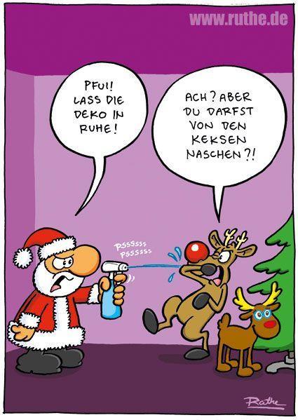Weihnachten Comic Weihnachten Weihnachtsmann Rentier Weihnachten