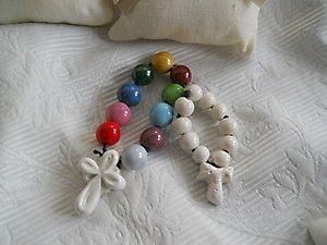 Rosario bomboniere - si possono avere a colori o bianca ...