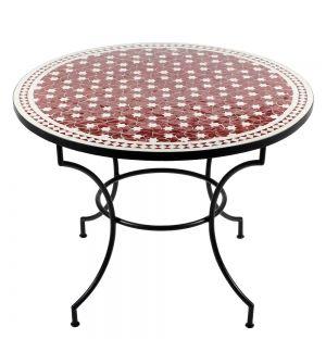 Mosaiktisch Maar Rot O 100cm Albena Marokko Galerie Mosaiktisch Grosser Esstisch Tisch