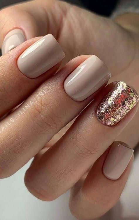 Stylish Nails, Trendy Nails, Fall Nail Colors, Good Nail Colors, Best Toe Nail Color, January Nail Colors, One Color Nails, Different Color Nails, Dipped Nails