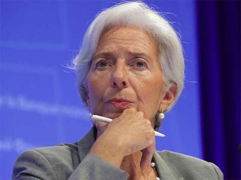 IMF chief Christine Lagarde says global economy is in