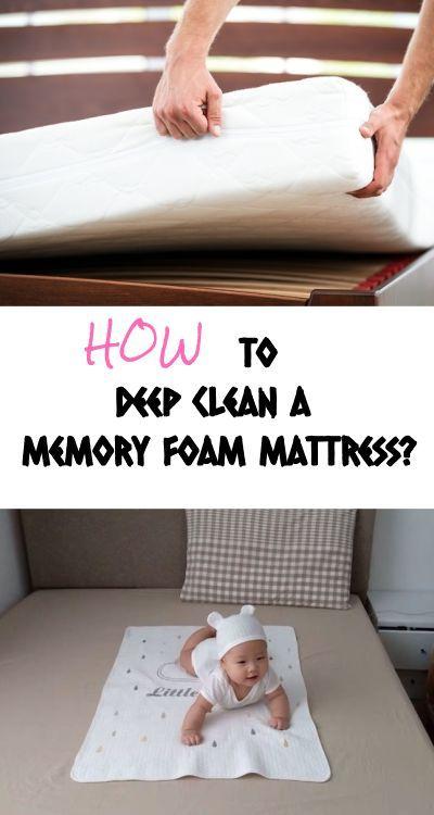 How To Deep Clean A Memory Foam Mattress Homelization In 2020 Clean Memory Foam Mattress Foam Mattress Memory Foam Mattress