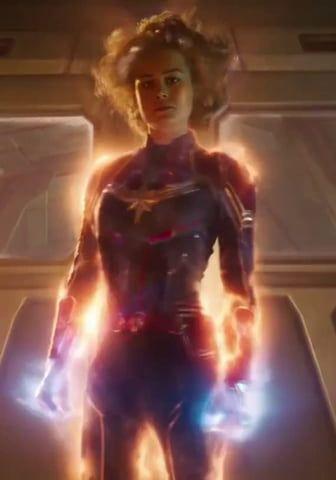 Captain Marvel going Binary - Marvel & DC