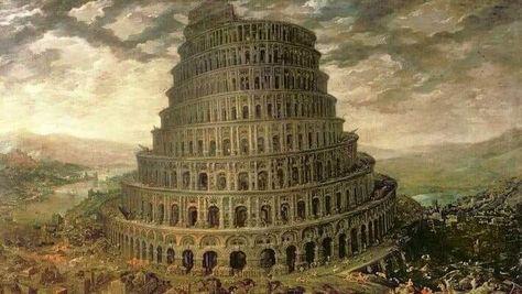 Torre De Babel Historia Em 2020 Com Imagens Torre De Babel