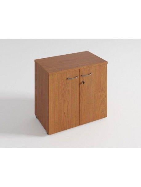 Armoire Basse 2 Portes H 72 Cm Quietude En 2020 Armoire Armoire Bureau Bureau Bois