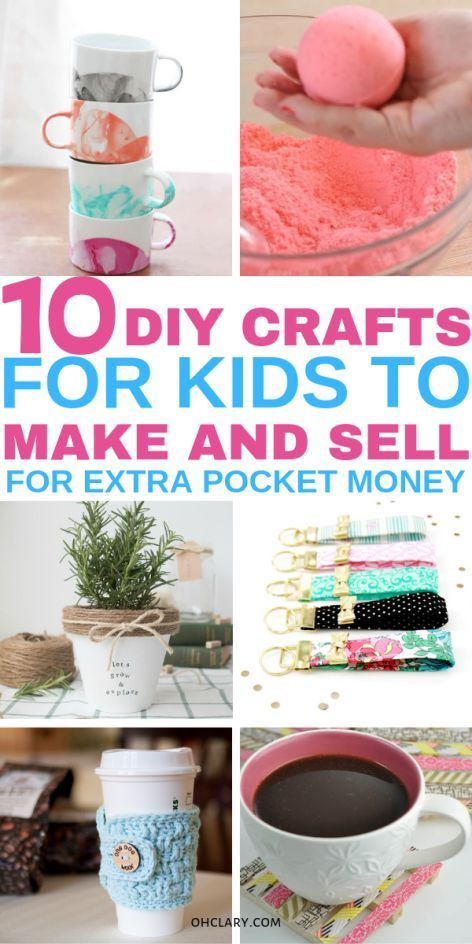 10 Crafts For Kids To Sell For Profit That Are Super Easy To Do In