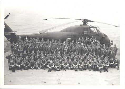 HMM-363 Squadron Photograph - USS Iwo Jima 1968