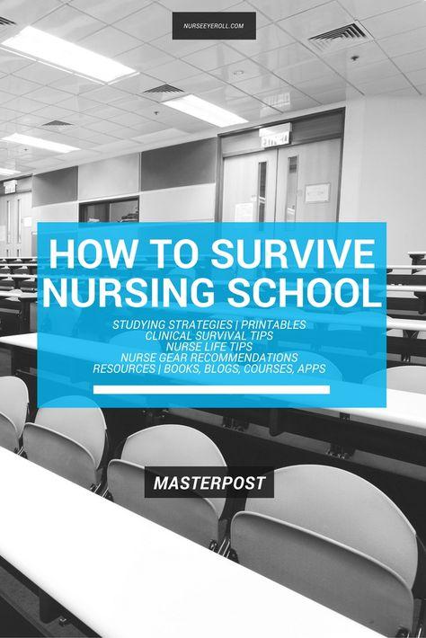 How to Survive Nursing School Masterpost – FRESHRN