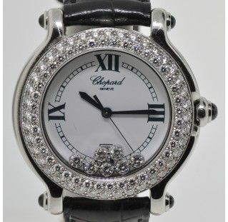 Diamond Chopard Ladies Watch Bauman