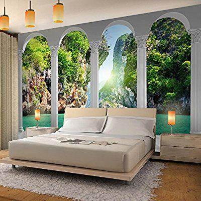 Fototapete Meer Natur 352 X 250 Cm Vlies Wand Tapete Wohnzimmer Schlafzimmer Buro Flur Dekoration Wandbilde Tapete Wohnzimmer Flur Dekoration Schlafzimmer Buro