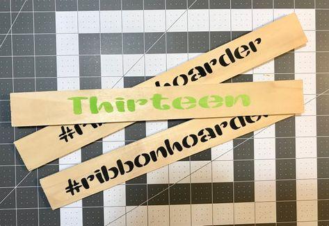 Ribbon Rulers Size Matters Ribbon Rulz Ribbon Tail Measuring Sticks