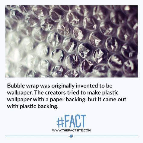 Bubble Wrap Was Originally Invented To Be Wallpaper The Creators