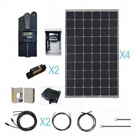 Renogy 1200 Watt Monocrystalline Solar Cabin Kit For Off Grid Solar System Solarpanels Solarenergy Solarpo In 2020 Solar Panels Solar Power Panels Solar Energy Panels