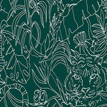 Jungle Animals Peel Stick Wallpaper Green Opalhouse Peel And Stick Wallpaper Wallpaper Jungle Animals