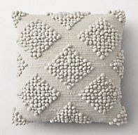 Textured Merino Wool Pillow Collection