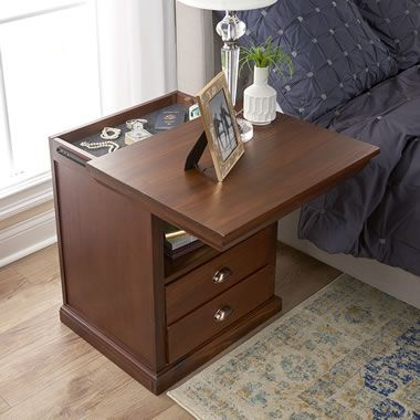 The Concealed Drawer Furniture Nightstand Secret Compartment