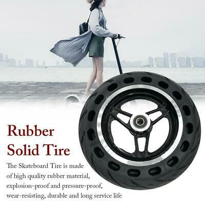 8 In Heavy Duty Solid Rubber Tire With Steel Hub Rubber Tires Rubber Zinc Plating