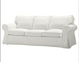Details About Ikea Ektorp 3 Seat Sofa Cover Blekinge White New Sealed Discontinued Replacement Ikea Sofa Covers Fo In 2020 Ikea Sofa Covers Ikea Sofa Couch Arm Covers