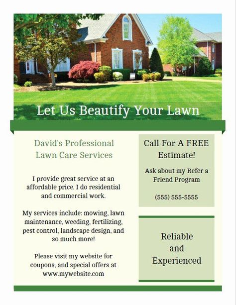 Lawn Mowing Flyer Template Free New Printable Lawn Care Business Flyer Templates#business #care #flyer #free #lawn #mowing #printable #template #templates