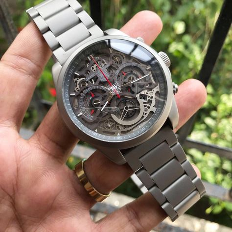 Tag Heuer Grand Grand Carrera Mercedes Benz SLS Chronograph Watch Limited