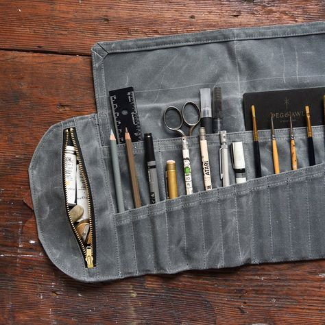 Small Size for Short Brushes Wallet Pro Arte Artists Empty Brush Storage Case