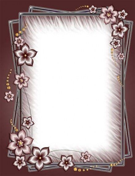 47 Trendy Wedding Photos Frame Png Flower Frame Romantic Frame Flower Frame Png