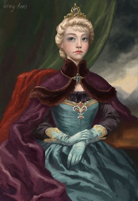 Historically accurate Elsa by araceli