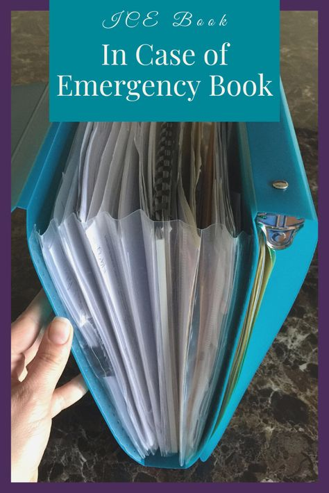 It's never too early to put an emergency preparedness plan for your home together. This In Case of Emergency Book will help you plan ahead for your family. Family Emergency Binder, Emergency Preparedness Plan, Emergency Preparation, Emergency Supplies, In Case Of Emergency, Disaster Preparedness, Emergency Kits, Life Binder, Survival Skills