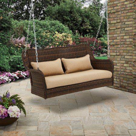Better Homes And Gardens Sullivan Pointe 3 Person Outdoor Swing