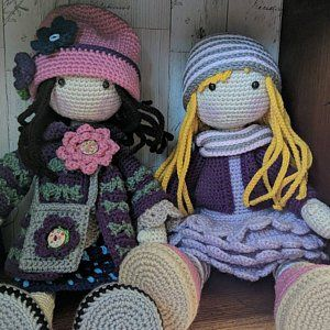 Crochet Pattern For Doll Alina Pdf Deutsch English Francais