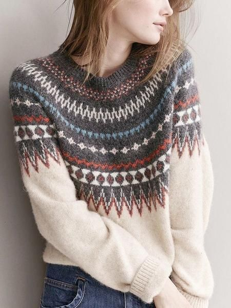 Knitting Patterns Pullover Norway gets competition. Look at this sweater. Closed Fashion in Gränicher Lucerne