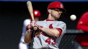St. Louis Cardinals: Shane Robinson is Pushing Matt Adams Out of a Job