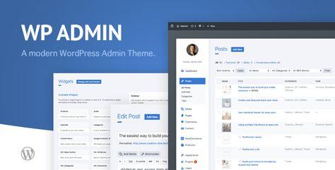 wphave Admin — A clean and modern WordPress Admin Theme   Stylelib