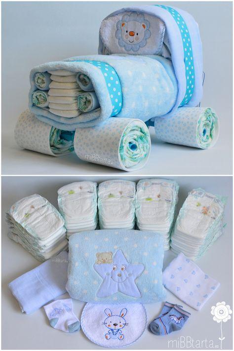 Regalos Utiles Para Bebes Recien Nacidos.Coche De Panales 4 4 Regalos Para Bebes Recien Nacidos